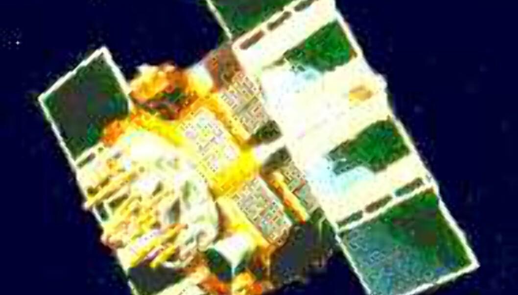 En GPS-satellitt