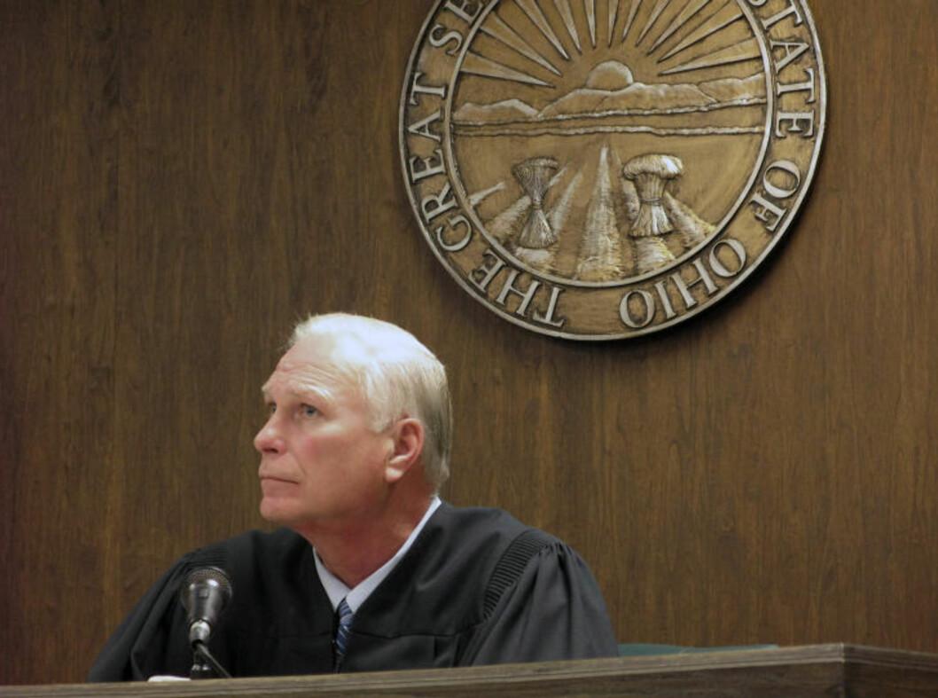 <strong>ÅPNE DØRER:</strong> Dommer Thomas Lipps har bestemt at rettssaken mot de to 16 år gamle guttene i Steubenville som er tiltalt for å ha voldtatt ei skolevenninne (16) skal gå for åpne dører når den starter onsdag. Foto: AP/Herald Star, Mark Law/NTB Scanpix