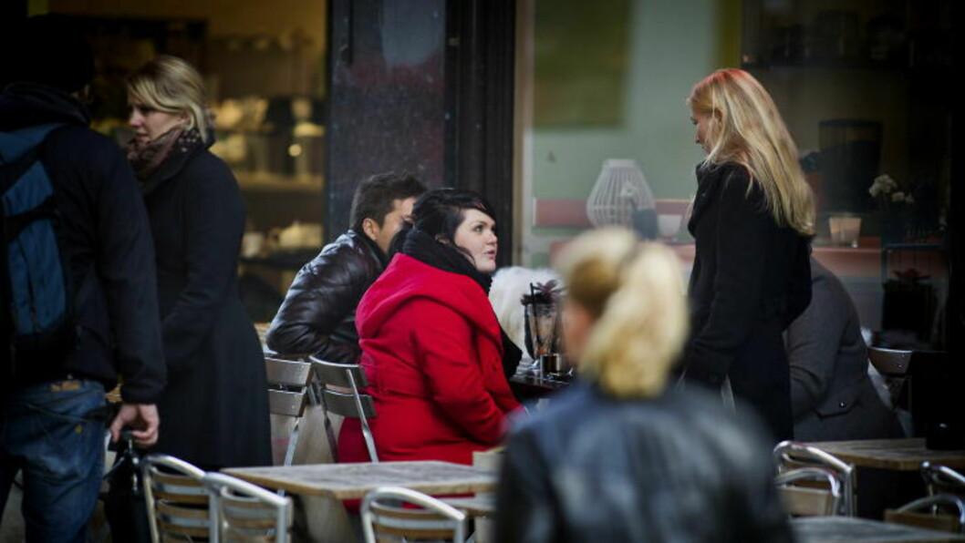 <strong>HJEMME IGJEN:</strong> Stina Brendemo Hagen på Bagels and Juice i Grensen i Oslo i 2011. ABP fikk henne hjem igjen og hun slipper unna fengselsstraffen. Foto: Bjørn Langsem / Dagbladet.