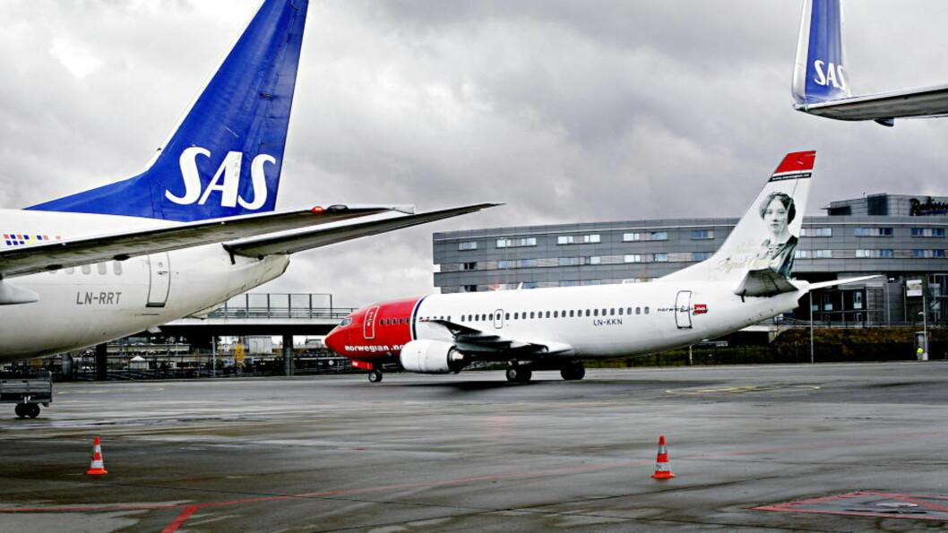 <strong>FORSINKELSER:</strong> De nye innflygingsrutinene på Gardermoen skaper noen forsinkelser i flytrafikken i morgentimene i dag. Foto: METTE MØLLER/DAGBLADET