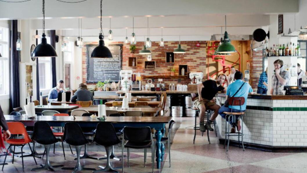 <strong>FRA KJEKS TIL HOTELL:</strong> Kex Hostel i Reykjavík er oppkalt etter kjeksfabrikken som lå her før.