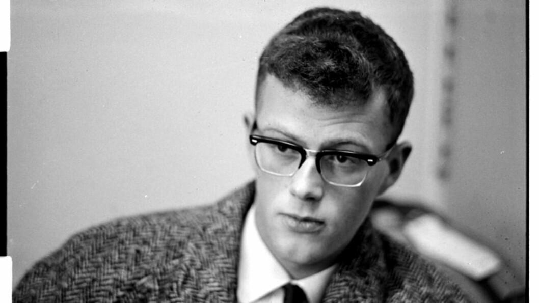 Dag Solstad da han debuterte som forfatter i 1965. Nå er han ute med memoarer. Foto:  Sverre Heiberg/Dagbladet