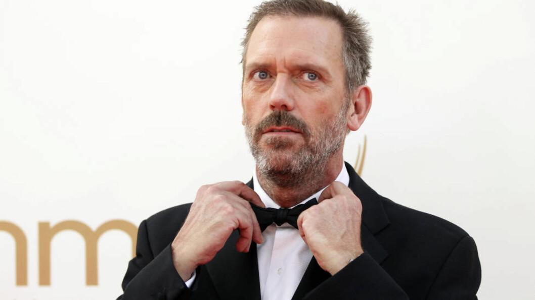 <strong>POPULÆR:</strong> Hugh Laurie, kjent fra «House». Foto: REUTERS / Danny Moloshok / NTB scanpix