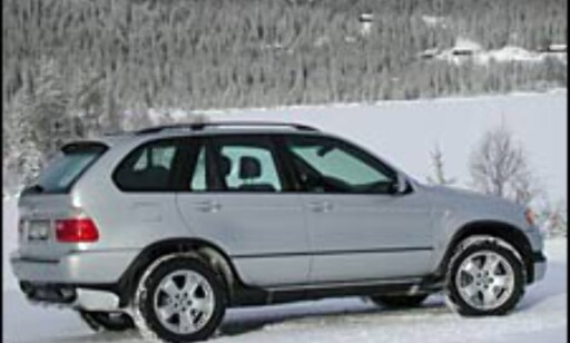 image: TEST: BMW X5 4.6 iS