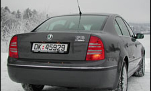 TEST: Skoda Superb 1.8T