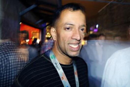 TALENTSPEIDER: Jay Srinivasan i World Beat Online. Foto: Øyvind Rønning / Dagbladet