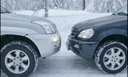 image: DUELL: Mercedes-Benz ML 270 CDI møter Toyota Land Cruiser