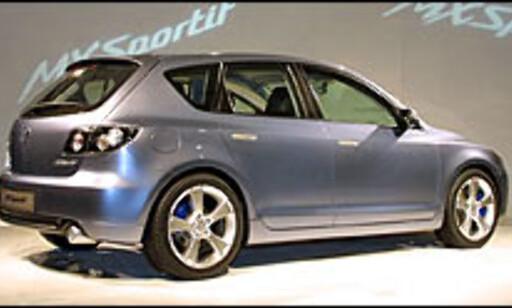 image: Mazda 3 konsept