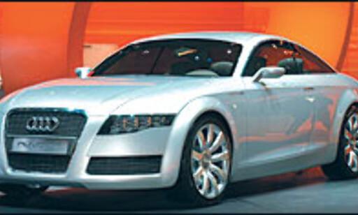 image: Konturer av ny Audi A6?
