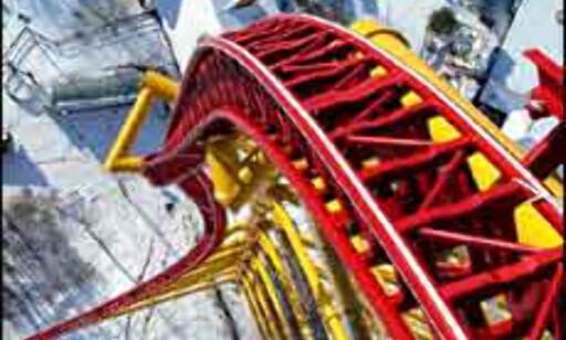 Dette er veien ned fra 128 meters høyde! Foto: Cedar Point Foto: Cedar Point