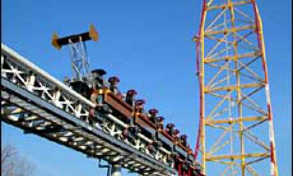 Barske dragstervogner for barske karer som tør dette ...<br /> <I>Foto: Cedar Point</I> Foto: Cedar Point