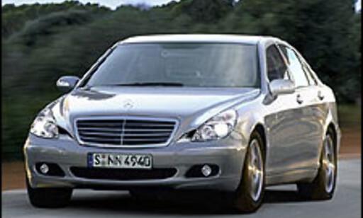 image: Mercedes S-klasse anno 2005