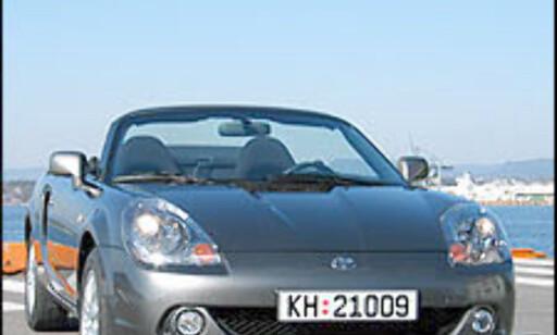 image: TEST: Toyota MR2 - morobilen sjarmerer igjen!