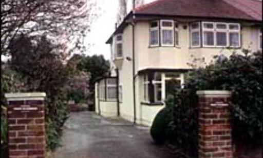 John Lennons barndomshjem er nå åpnet for turister. Foto: Visit Britain Foto: Visit Britain