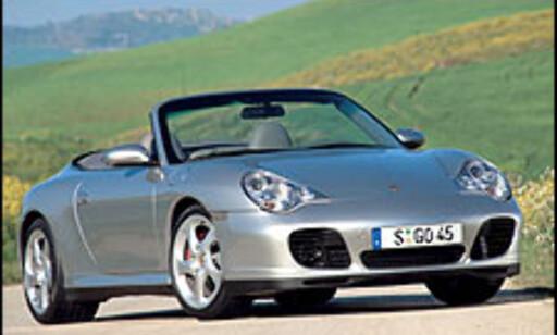 image: Sportslig kabriolet fra Porsche