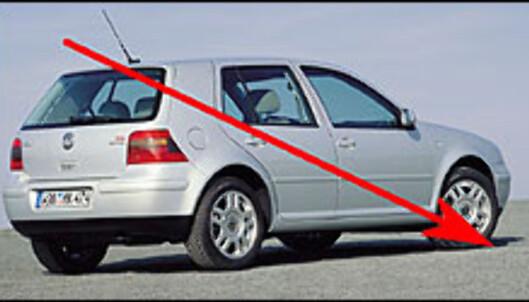<strong>VOLKSWAGEN GOLF:</strong> Norges mest kjøpte personbil i 1998, 1999 og 2000. Bronse-plassering i 2001 og 2002. I dag ligger Golf på en 10. plass.
