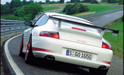 image: Porsche med nytt råskinn
