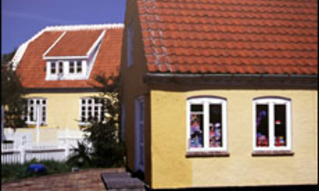 Typiske skagenhus.<br /> <I>Alle foto: Kristin Sørdal</I> Foto: Kristin Sørdal