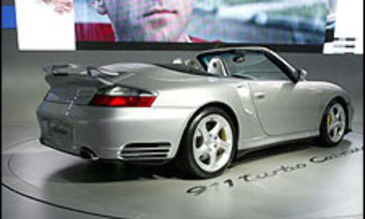 Porsche 911 Turbo kabriolet.