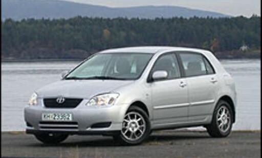 image: TEST: Toyota Corolla med stabilitetsprogram