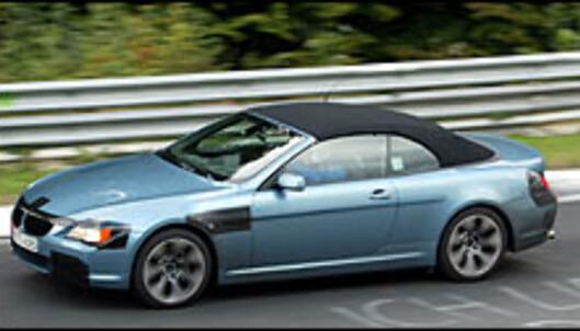 BMW 6-serie kabriolet