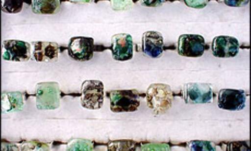 Ringer fra søndagsmarkedet i Port Vell.  Foto: Inga Holst Foto: Inga Ragnhild Holst
