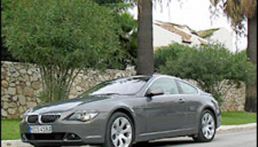 BMW 645Ci: Kakseracer
