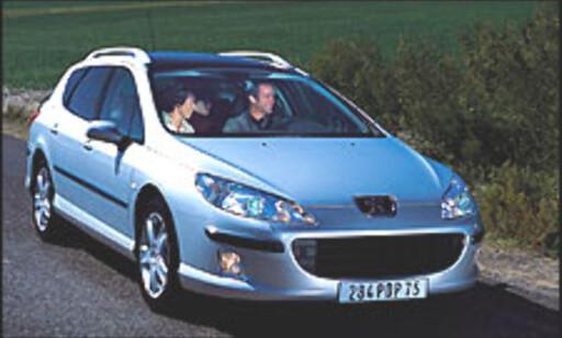 image: Her er nye Peugeot 407
