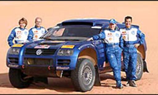 image: Mitsubishi herjer i Mauritania
