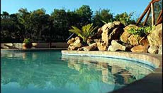 Messetilbud fra reiselivsmessa til for eksempel Matswani Safari Lodge i Sør-Afrika. <I>Foto: Matswani Safari Lodge/Store Verden</I> Foto: Matswani Safari Lodge/Store Verden