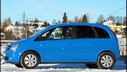 TEST: Opel Meriva 1.7 DTI