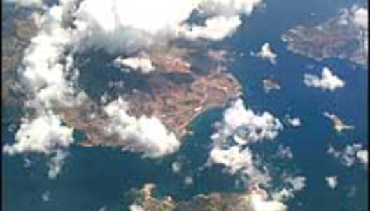 Greske øyer sett fra luften. <I>Foto: Camilla Smistad Tofterå</I> Foto: Camilla Smistad Tofterå