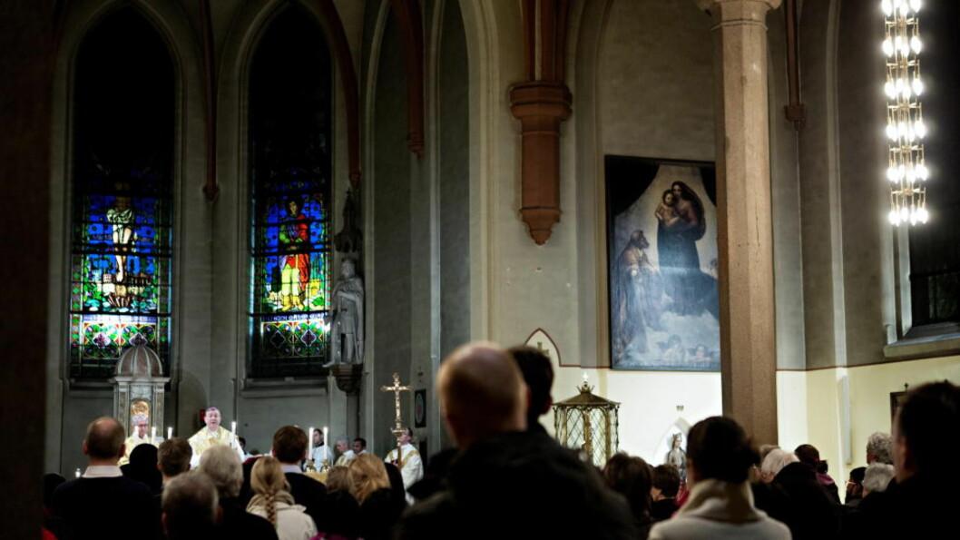 GODTROENDE? Økokrim mener kristne er mer utsatt for svindel. Foto: Nina Hansen / Dagbladet