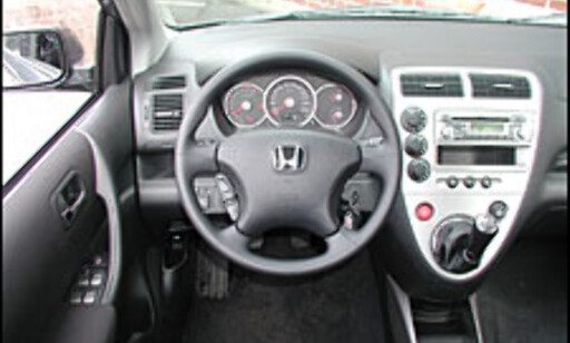 TEST: Honda Civic 1,6 ES