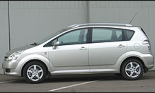 image: TEST: Nye Toyota Corolla Verso 1.8 Sol