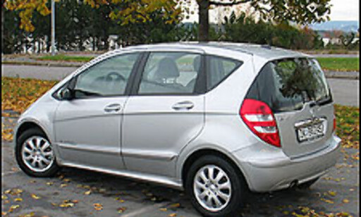 image: TEST: Mercedes-Benz A170