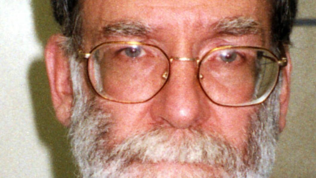 """<strong> DOKTOR DØD:</strong>  Den privatpraktiserende legen Harold Shipman ble i 2002 dømt for drap på """"minst"""" 215 pasienter i løpet av en 23 års periode. Han ble funnet hengt og død i fengselscella i Yorkshire i 2004. FOTO: BRITISK POLITI/AP/NTB Scanpix."""