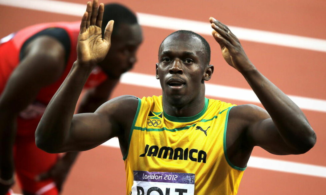 <strong>KLAR FOR NY SESONG:</strong>  Usain Bolt.