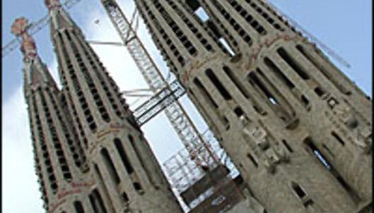 Temple de la Sagrada familia, stadig like uferdig.<br /> <br /> <i>Foto: Inga Holst</i><br />  Foto: Inga Ragnhild Holst