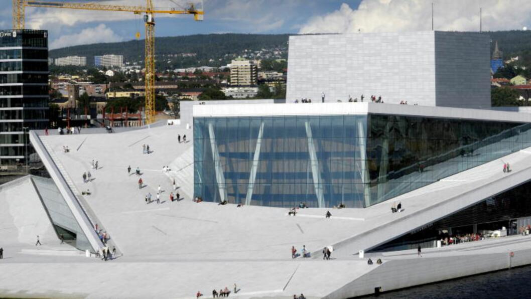 <strong>HVIT:</strong> Slik ser bygget ut nyvaska.   Foto: John T. Pedersen/Dagbladet