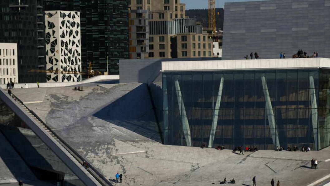 <strong>ET GRÅTT SYN:</strong> Operahuset i Oslo. Foto: Benjamin A. Ward