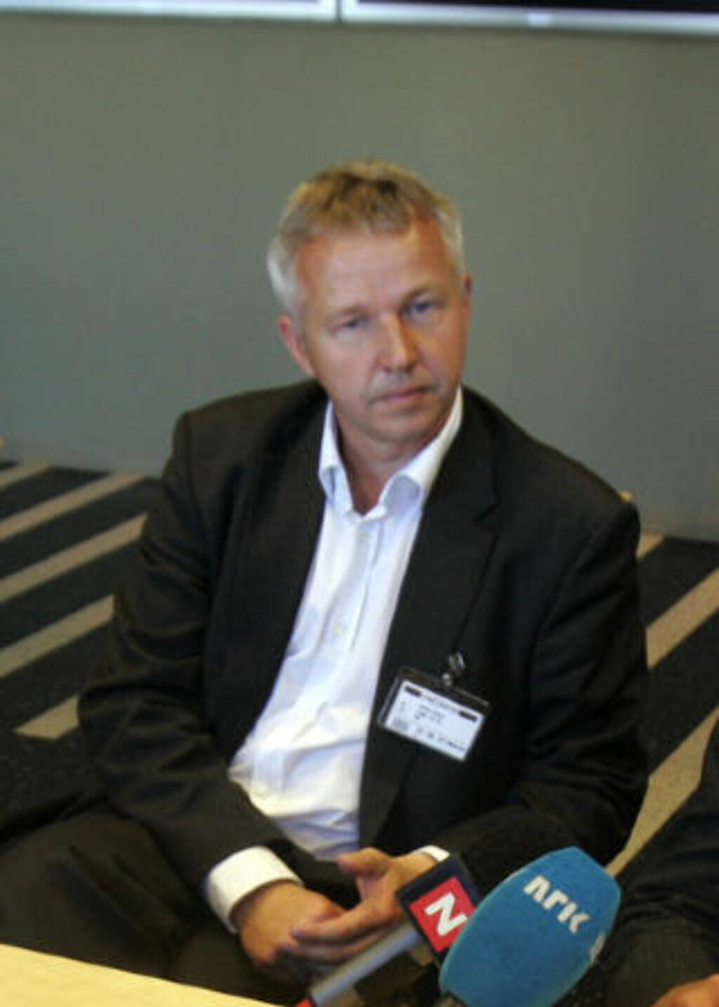 - IKKE STRAFFBART: Jan Egil Presthus, sjefen for Spesialenheten for politisaker har konkludert med at UPs råkjøring ikke var straffbart. Foto: Cornelius Poppe / SCANPIX