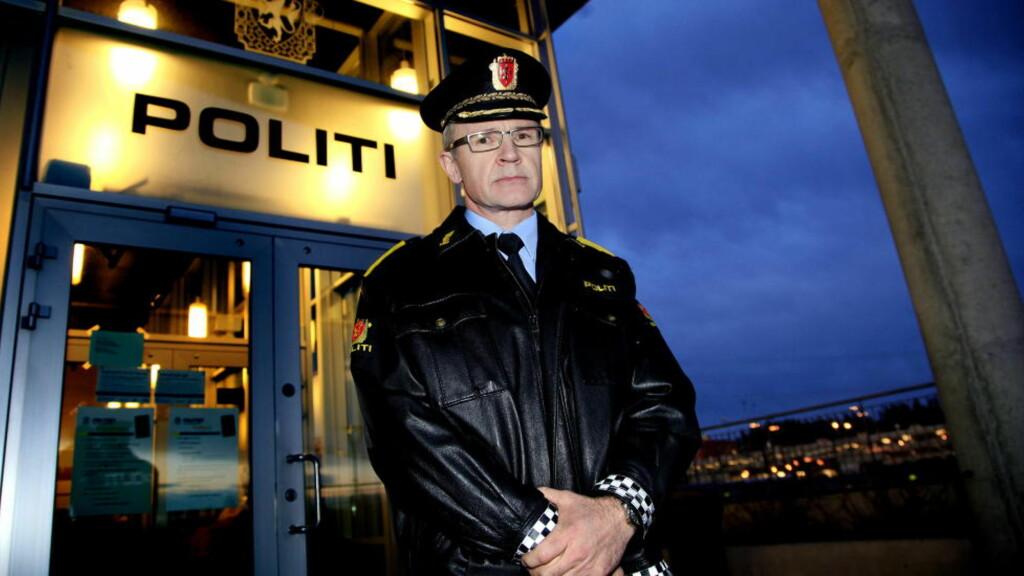 VARSLET:  Politimester Arne Jørgen Olafsen i Follo varslet Spesialenheten om UPs råkjøring: Foto: Jacques Hvistendahl