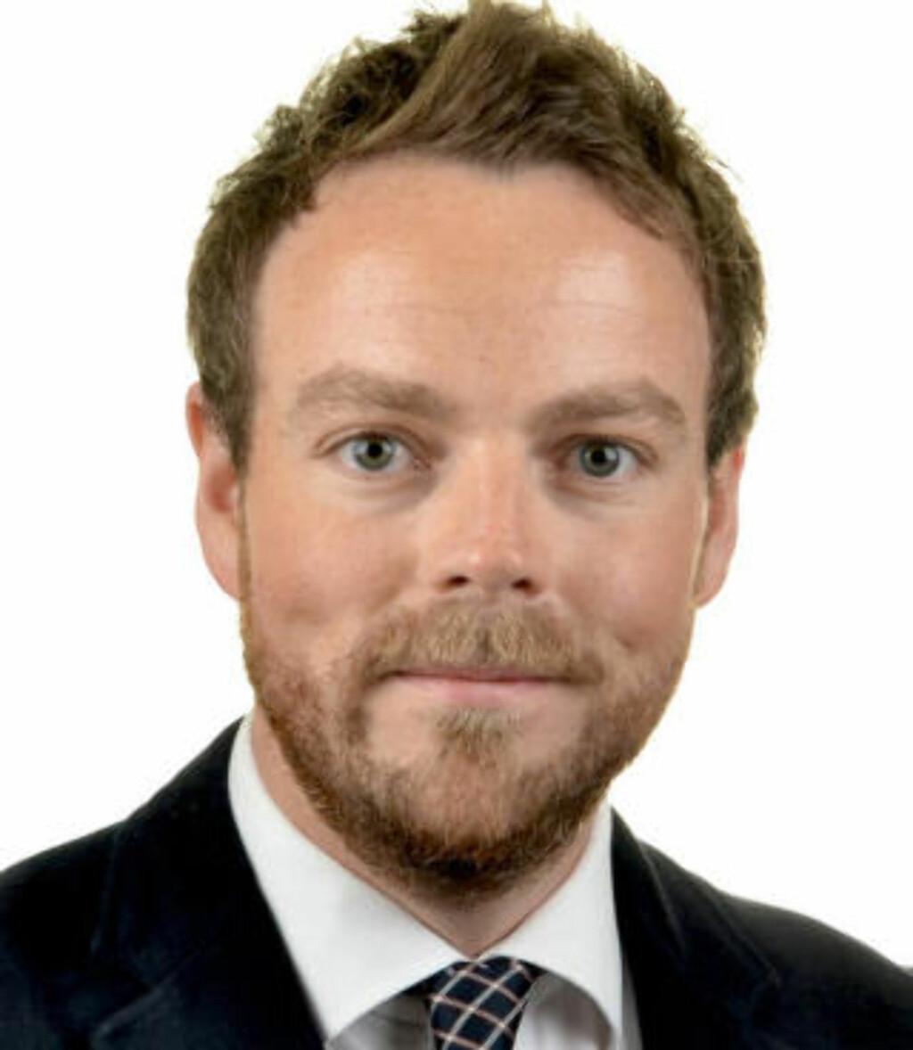KRONIKKFORFATTER:  Torbjørn Røe Isaksen, arbeids- og sosialpolitisk talsmann i Høyre