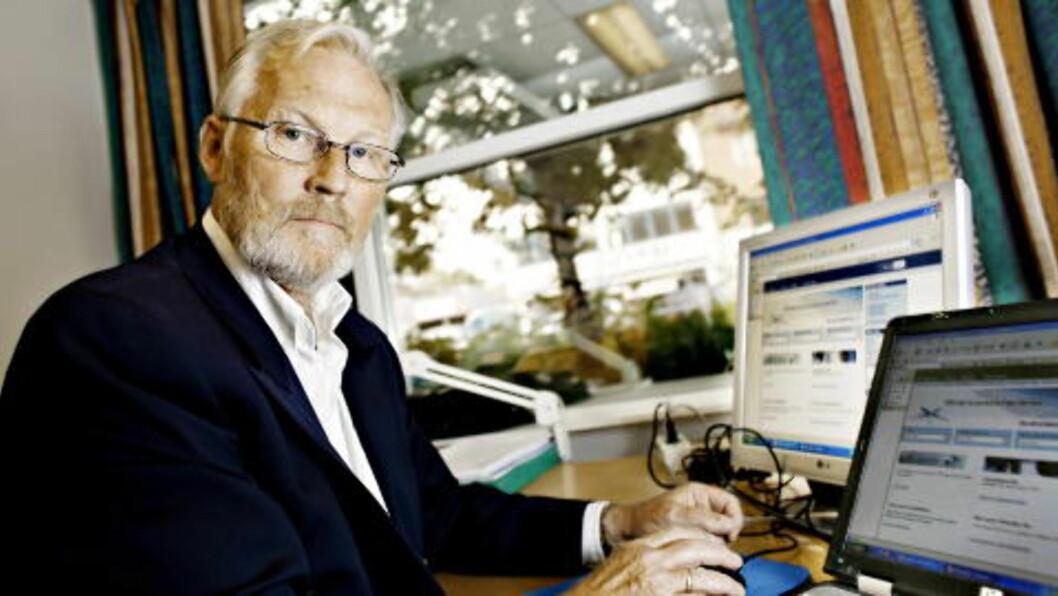 <strong>- KAPPLØP:</strong> Frank Robert Berg i Finanstilsynet mener finanssektoren nå må sette inn ressurser og tenke tiltak for å forebygge mobil-hacking. - Dette blir på en måte et kappløp, sier Berg til Dagbladet.    Foto: Ole C. Thomassen/Dagbladet