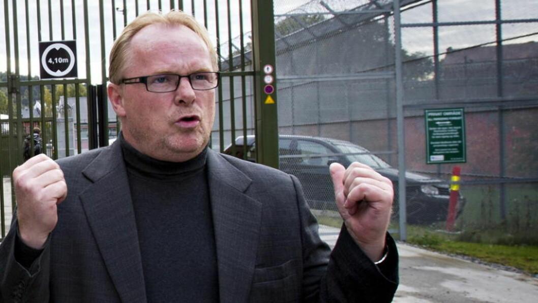 <strong>- VELFERDEN I FARE:</strong>  Per Sandberg mener den rødgrønne regjeringen er på vei til å ødelegge den norske velferdsstaten.  FOTO: TORBJØRN BERG / DAGBLADET