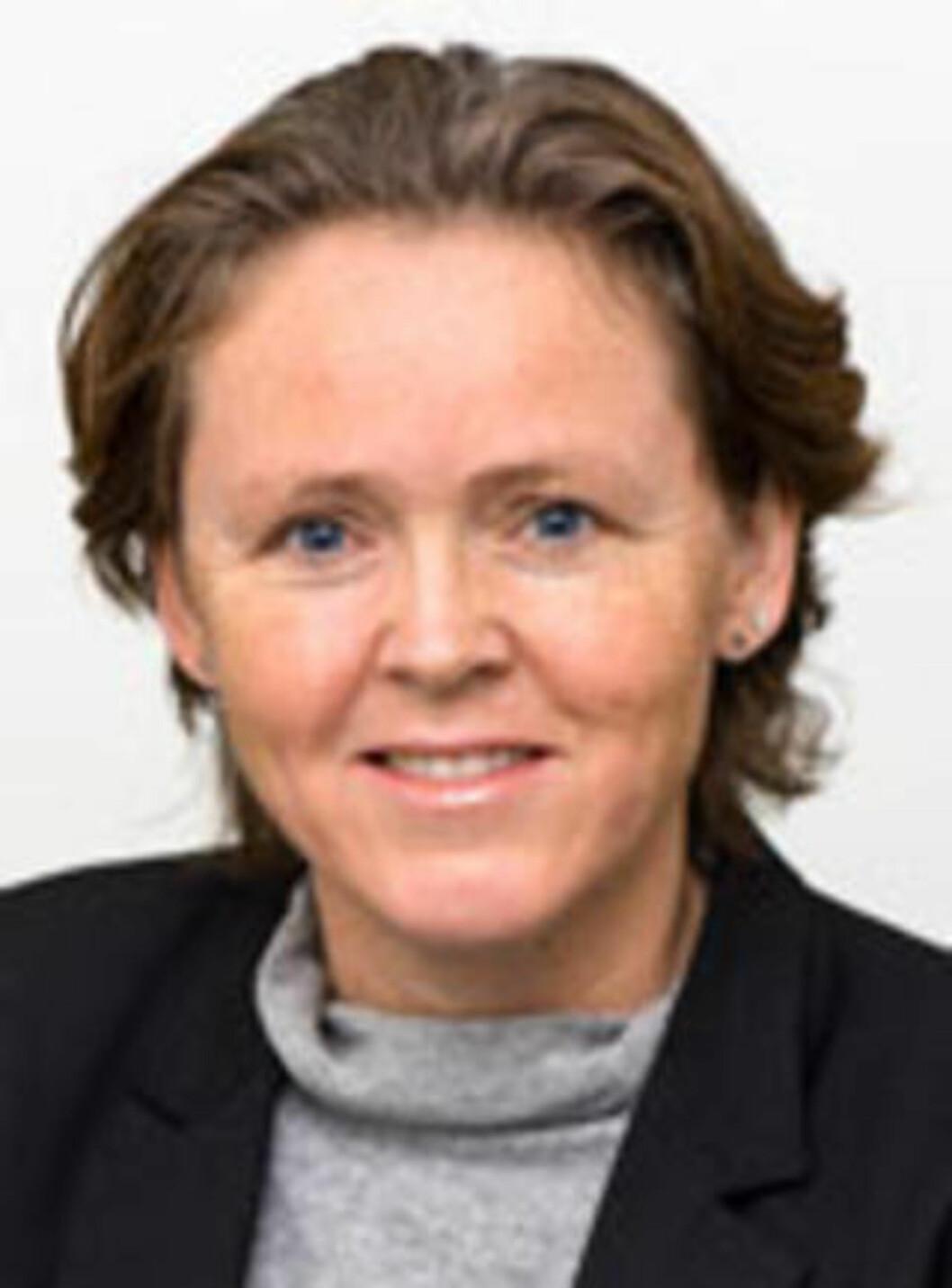 <strong>AVVISER:</strong>  Statssekretær Kristin Bergersen i Justisdepartementet avviser kritikken fra Per Sandberg. Foto: Justisdepartementet