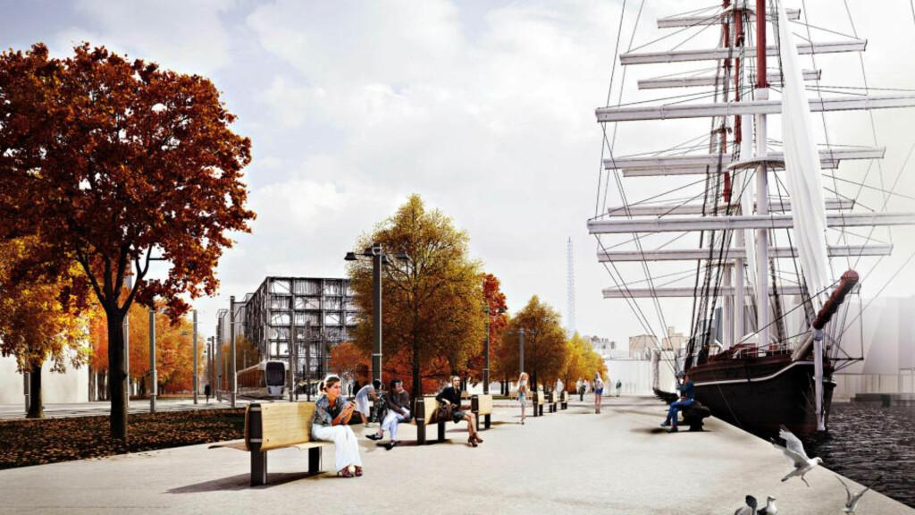 AMBISJONER: «For kommunen er Filipstad-området en viktig del av byutviklingen for å utvide sentrum vestover», skriver artikkelforfatteren. Foto: Diiz for Oslo kommune