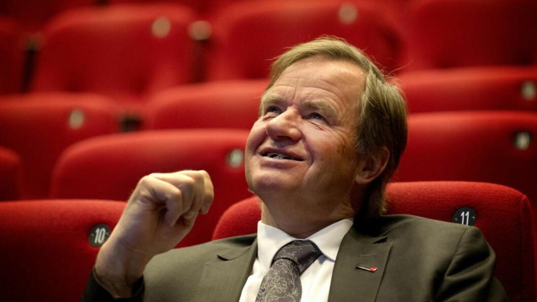 <strong>FEST:</strong> Norwegian passerte 10 milliarder kroner i børsverdi og Bjørn Kjos har aksjer for 2,3 milliarder kroner. Foto: Øistein Norum Monsen / DAGBLADET
