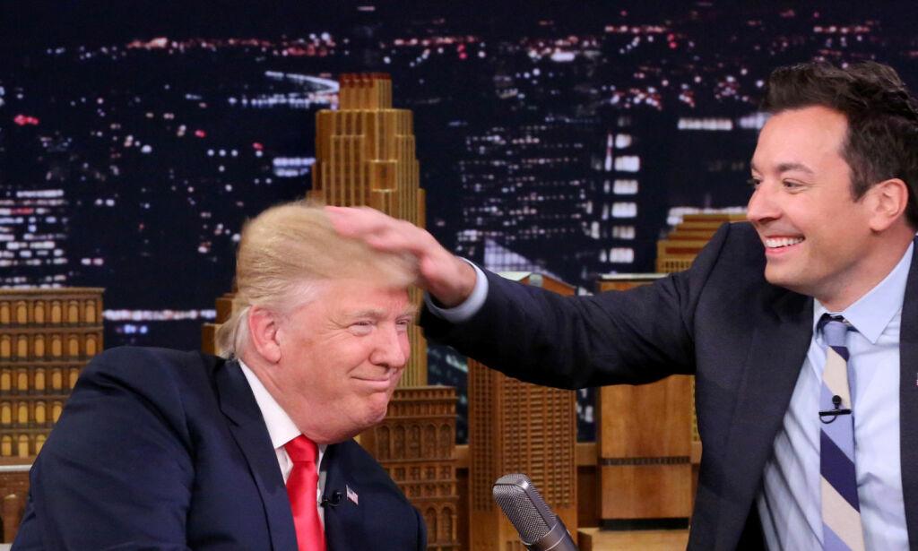 image: Først nektet Trump å svare, men nå tror han at Obama ble født i USA